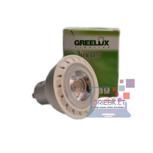 LED lemputė GU10 COB 7W 2700K Greelux