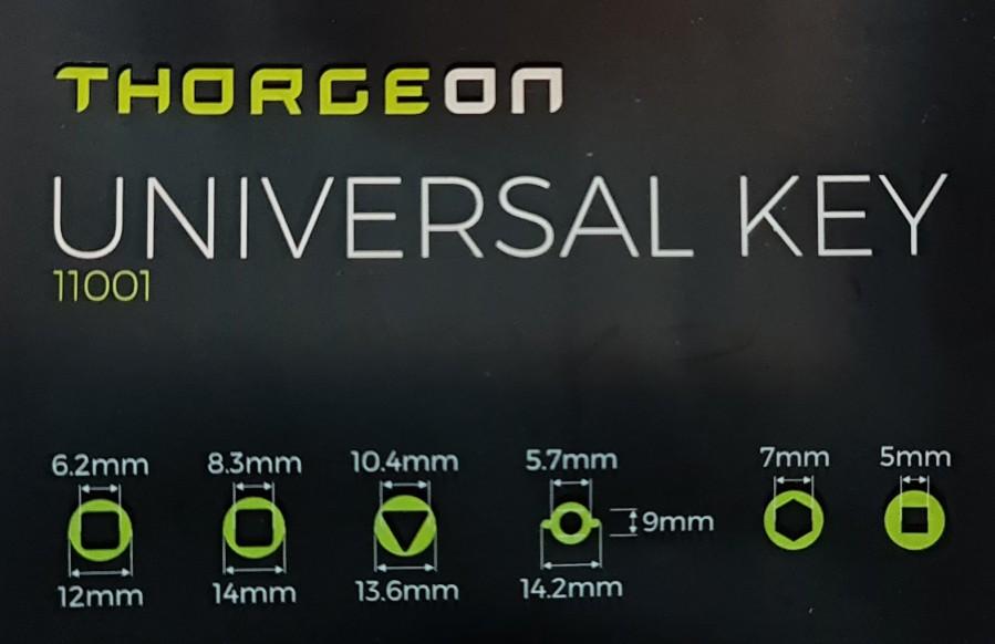 THORGEON universalus raktas 6in1