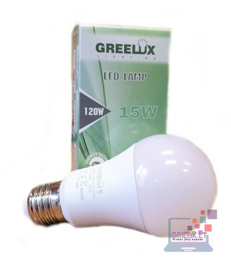 LED lemputė A60 15W E27 Greelux