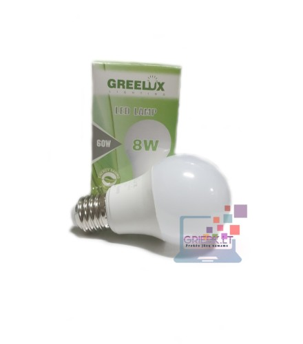 LED lemputė A60 8W E27 Greelux