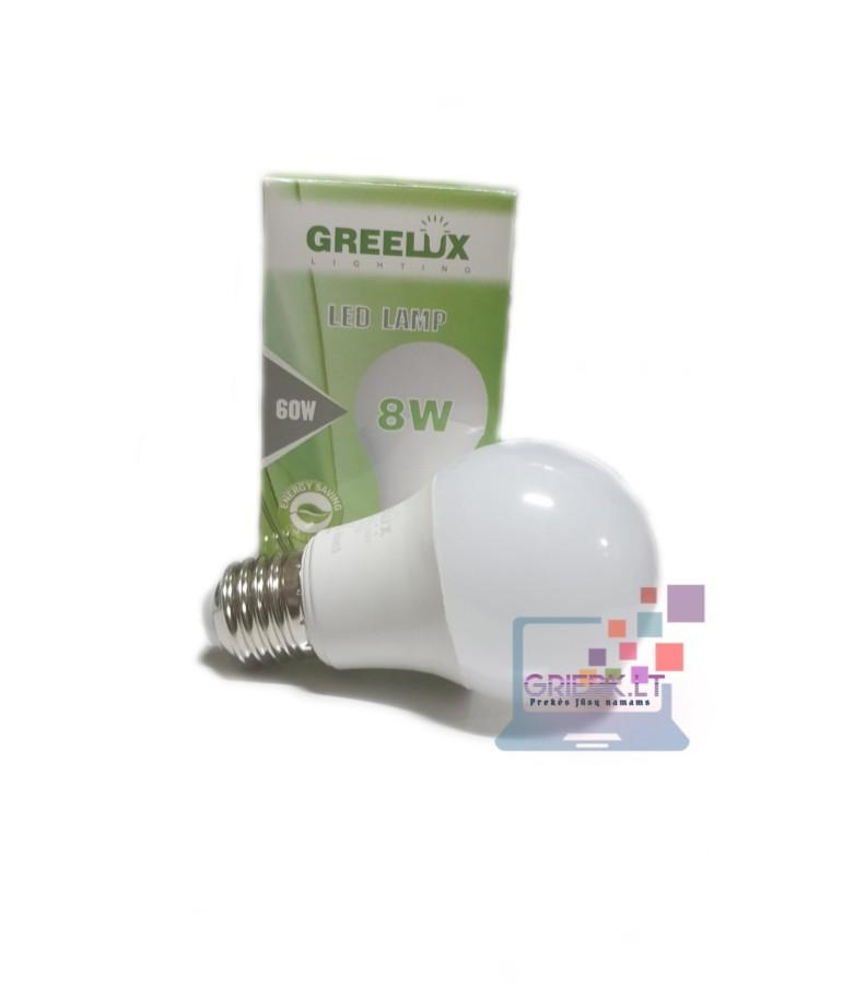 LED lemputė A60 8W E27 Greelux