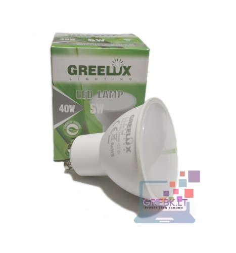 LED lemputė GU10 5W Greelux