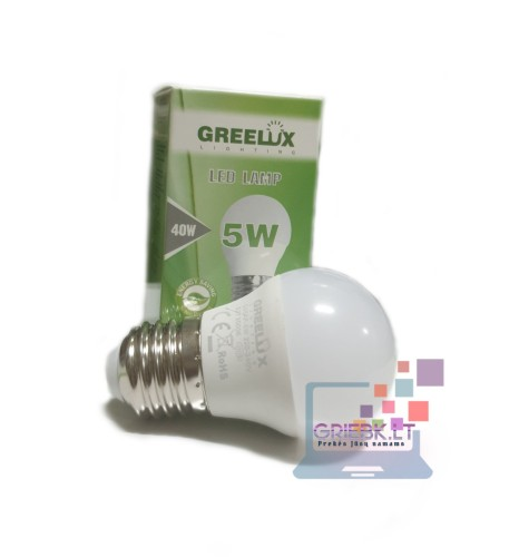 LED lemputė P45 5W E27 Greelux