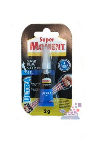 Momentiniai klijai Super Moment Ultra Gel 2g