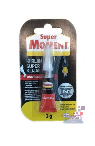 Momentiniai klijai Super Moment 3g